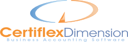 CertiflexDimension Business Accounting Software