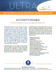 Accounts Payable Brochure